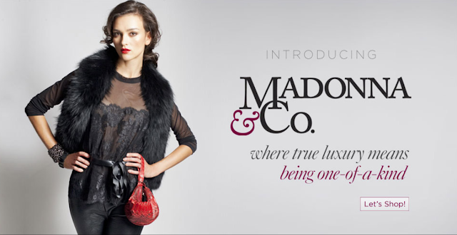 Madonna and Co boutique banner