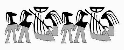 Universidade Hebraica de Jerusalém revela selo de cena musical datado de 5 mil anos