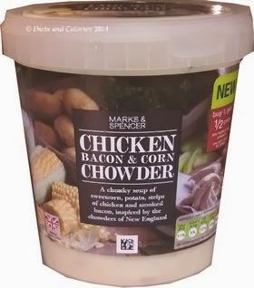 Marks & Spencer Chicken Bacon & Corn Chowder
