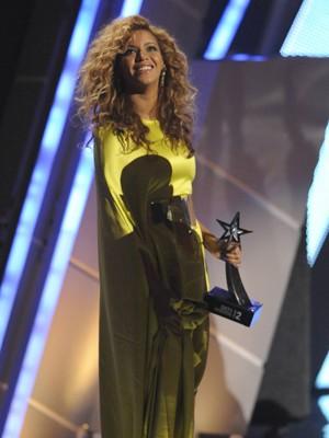A cantora Beyoncé no BET Awards, em julho (Foto: Phil McCarten/Reuters)