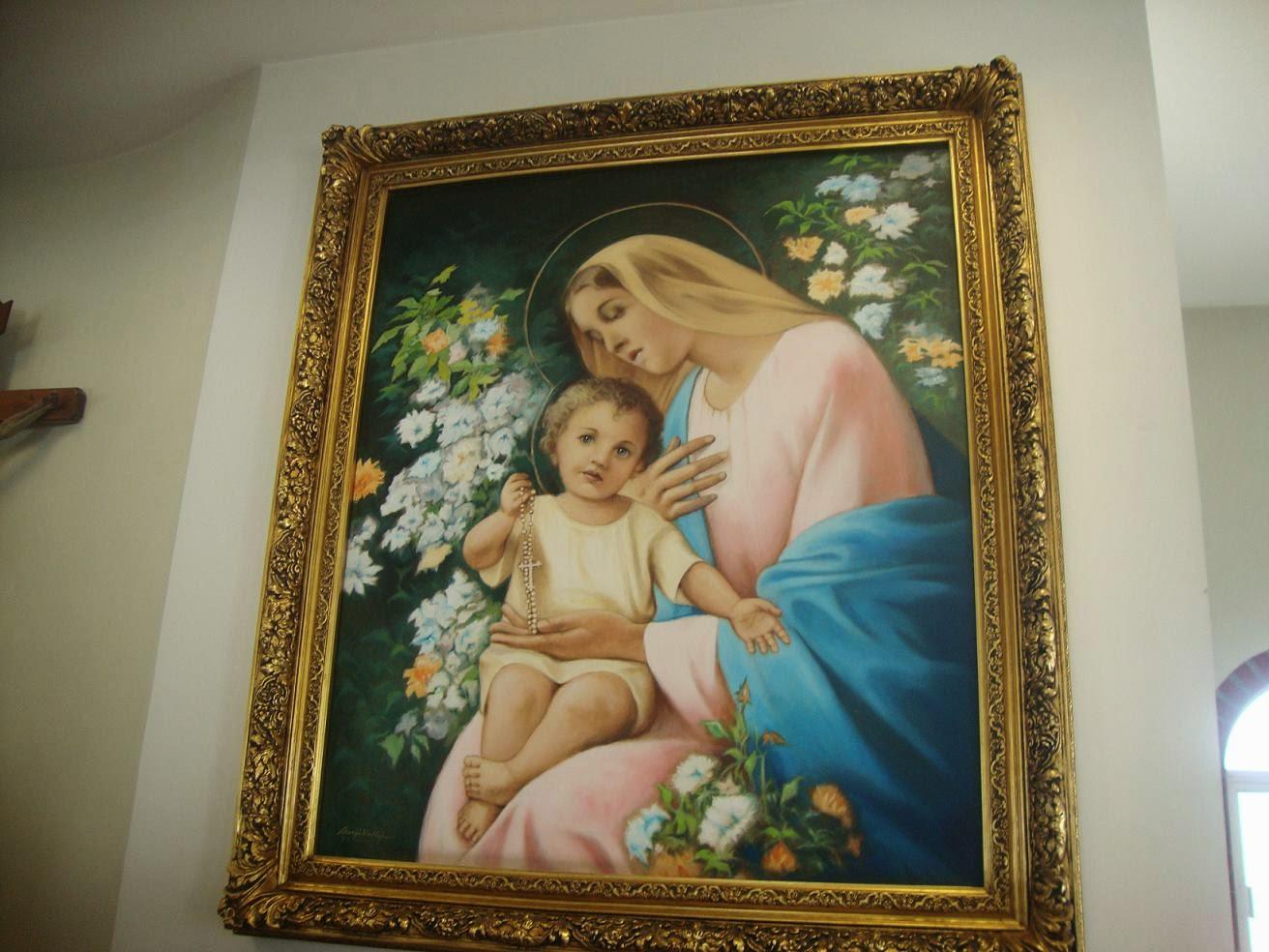Capilla de María Madre de Gracia Pintura Sergio Vallejo