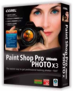 programas Download PaintShop Pro Photo X3