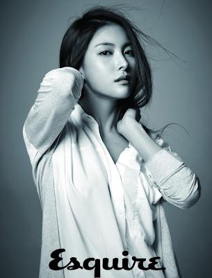 Gyuri KARA Sexy Beauty Esquire Magazine May Issue 2013