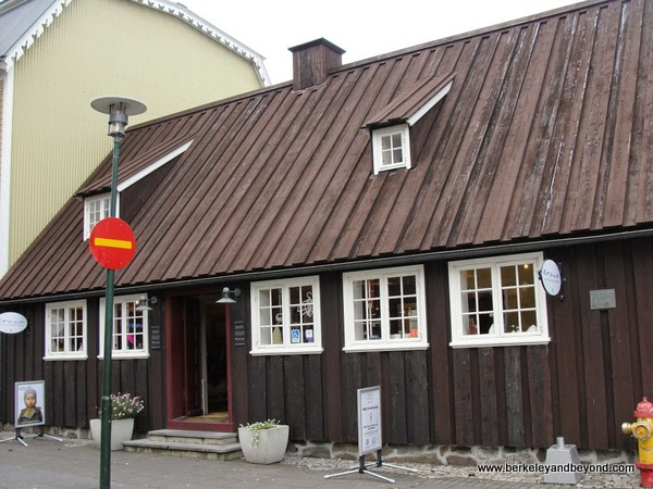 exterior of Kraum Centre for Icelandic Craft in Reyjkavik, Iceland