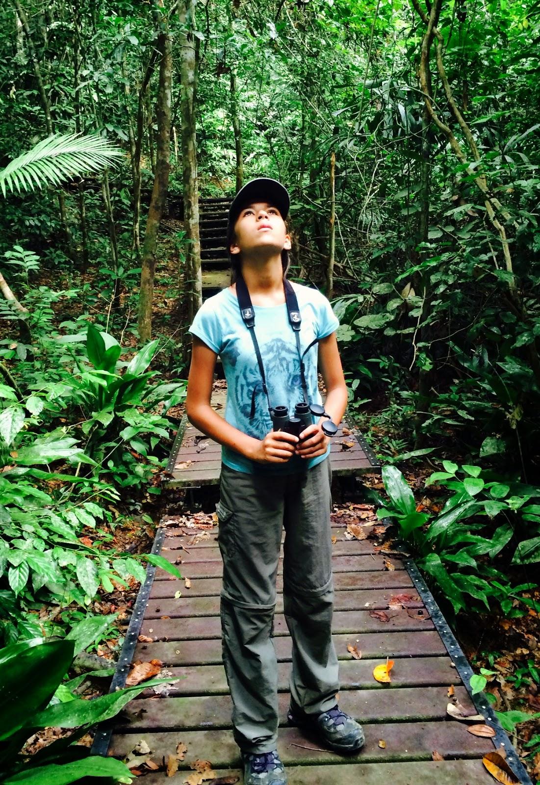 Taman Negara Malaysia  city photos gallery : Young Birder Birdgirl Mya Rose Craig Taman Negara, Malaysia