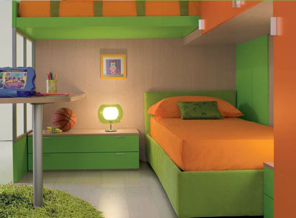 Cheerful Cool Kids Bedrooms Design Ideas