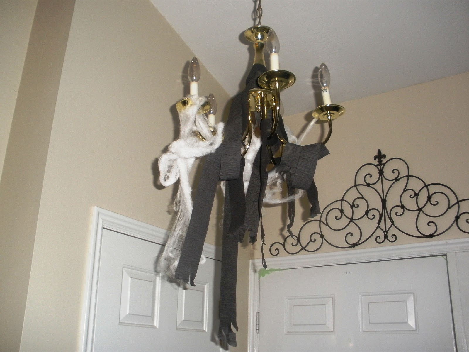 the dancing cow: my halloween decorations!