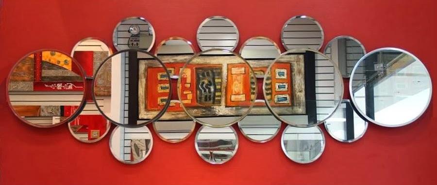 Espejos decorativos a pedido kaviart for Espejos circulares decorativos