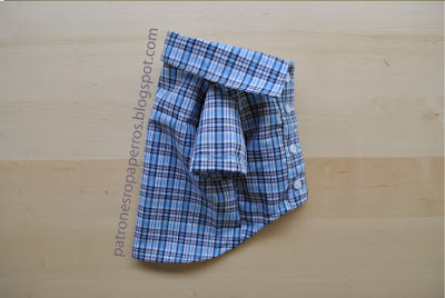 patrones camisa perro