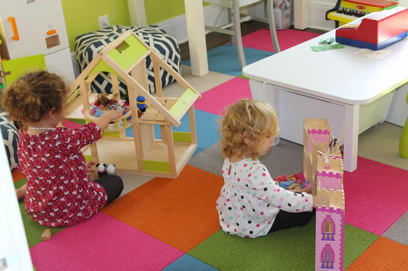 Design Playroom Carpet installing flor carpet tiles for leas new playroom cozy home image via