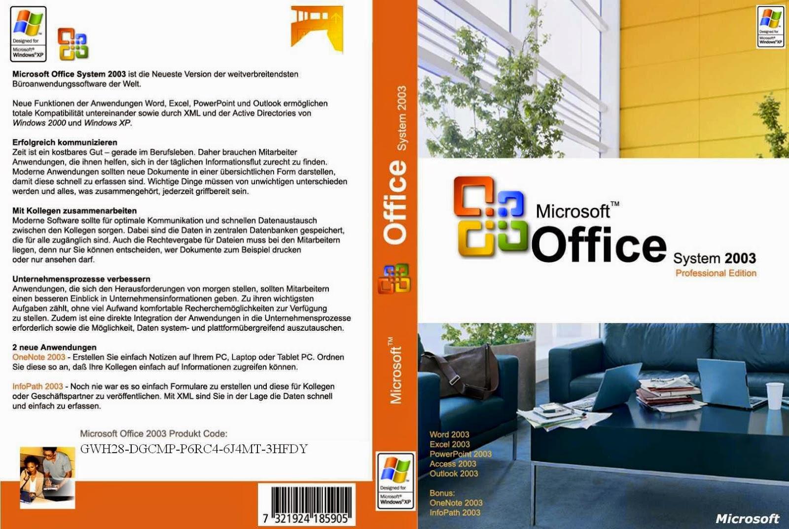 microsoft office professional edition 2003 iso
