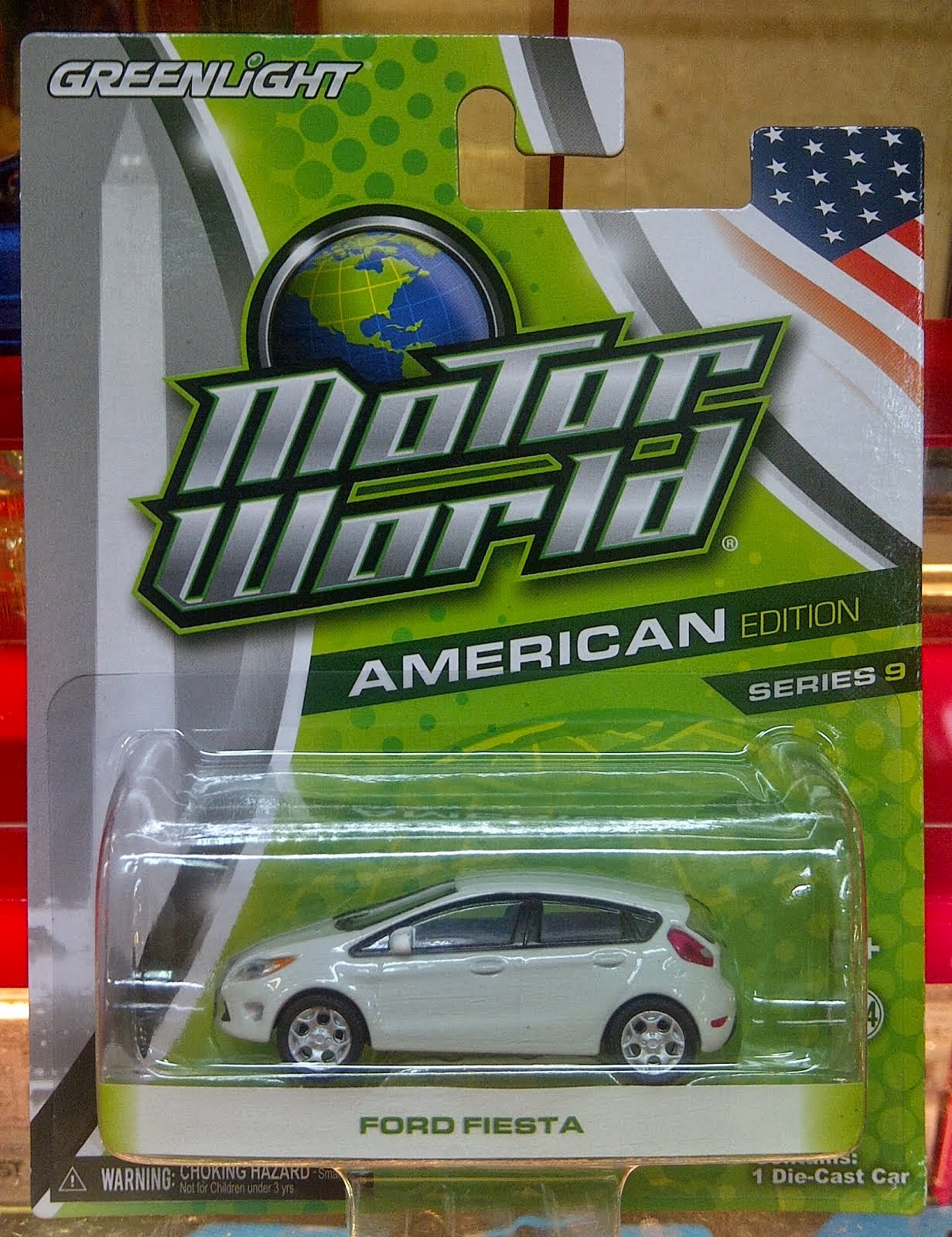 Greenlight Ford Fiesta White