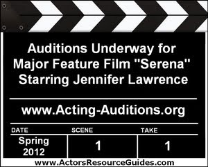 Serena Auditions Jennifer Lawrence