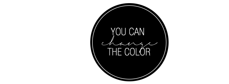 You can change the color