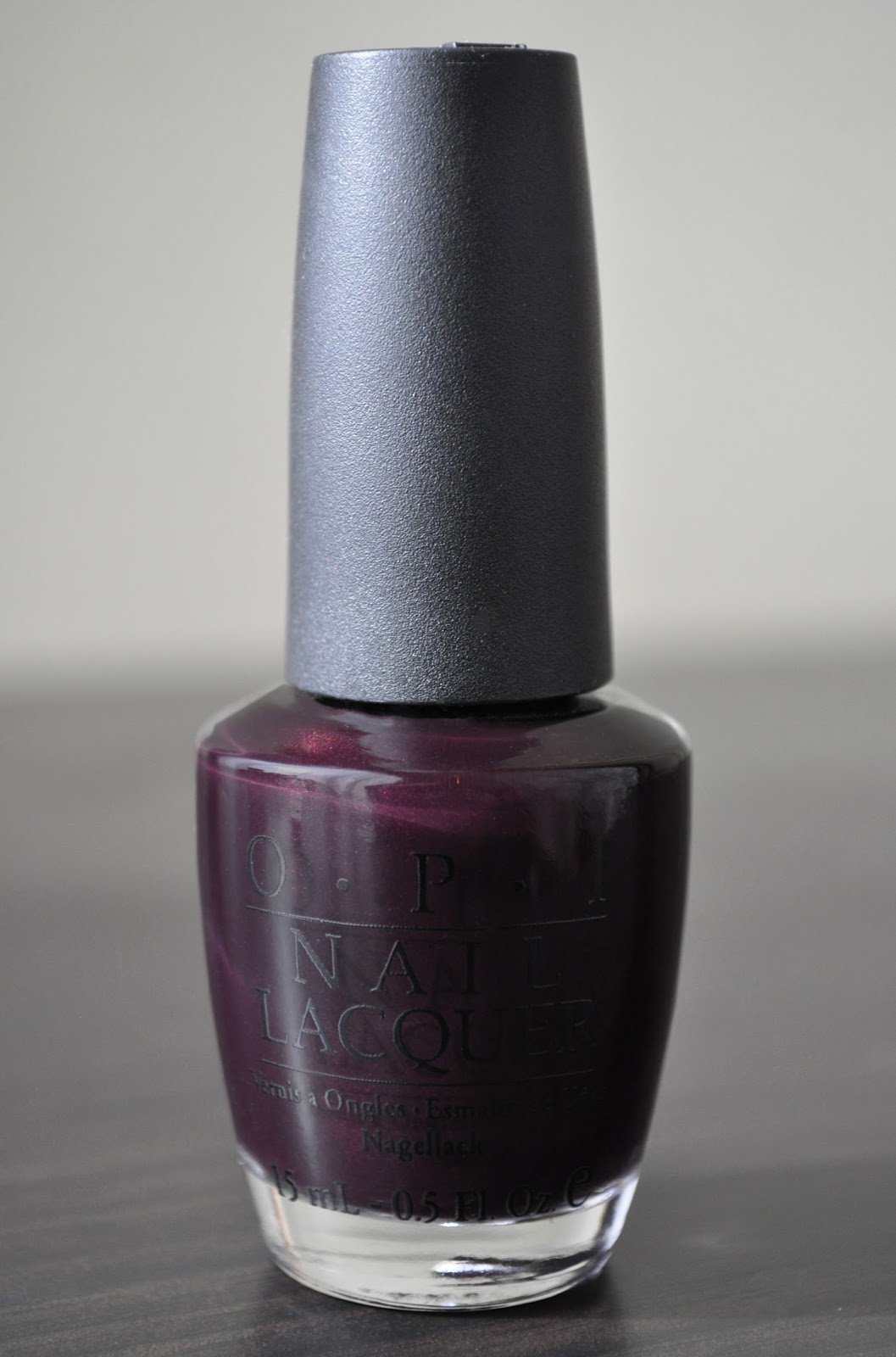 So Lonely in Gorgeous: Chutney Is Marvelous! O.P.I Black Cherry ...