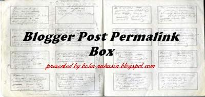 kotak permalink blogger