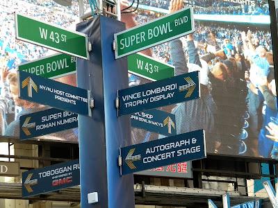 Super Bowl Boulevard Super Bowl XLVIII