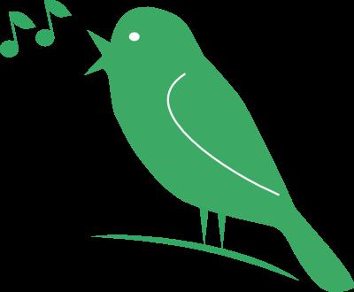 Recanto dos p ssaros viu passarinho verde - Dessin oiseau qui chante ...
