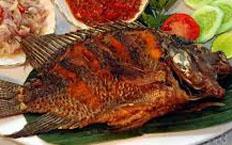 Resep praktis (mudah) ikan mujair goreng spesial (istimewa) enak, lezat