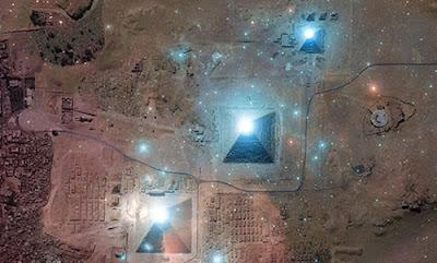 las piramides de egipto y la constelación de orión