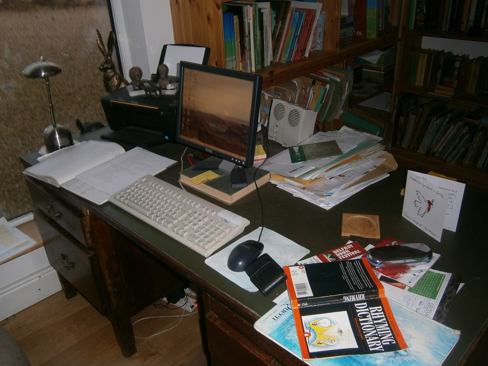 Picture book den want to see my writing desk malachy doyle
