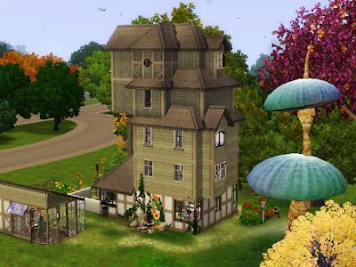 Sims 3 Harry Potter Burrow