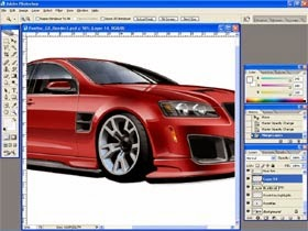 How To Render Cars Bodykit in Photoshop Fast and Easy