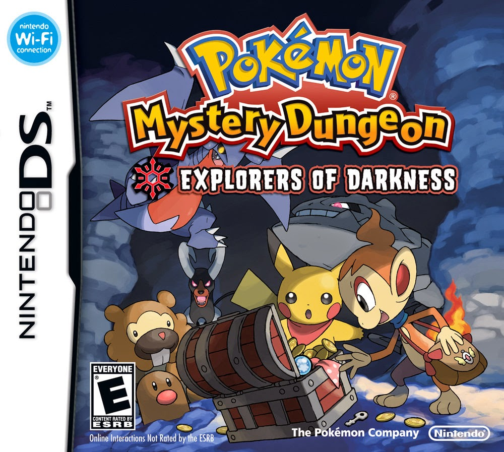 Pokémon Mystery Dungeon Explorers of Darkness (Nintendo DS) (Español)