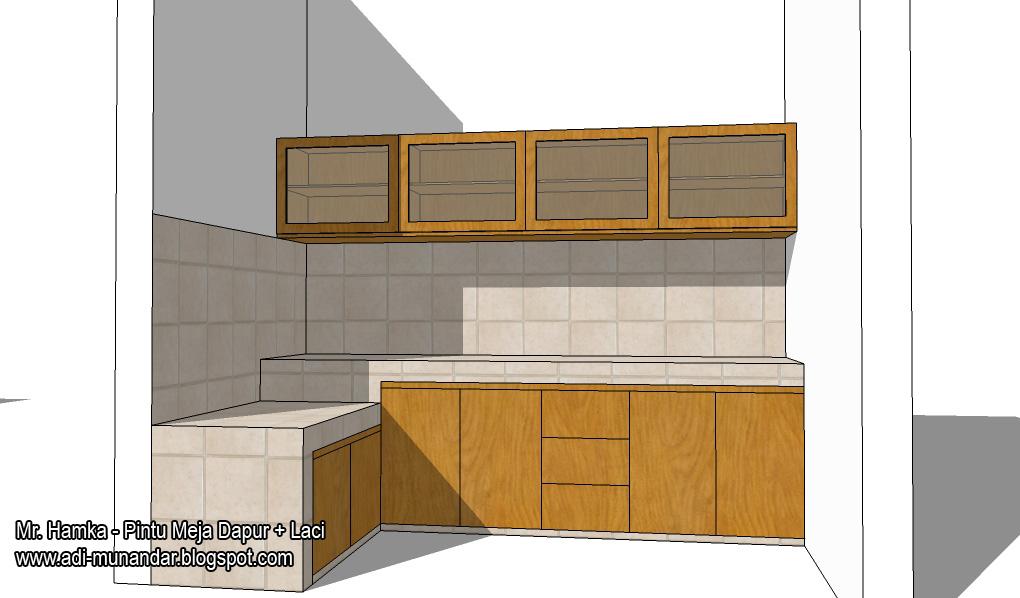 Harga jual lemari dapur kitchen set gantung mebel murah for Jual kitchen set surabaya