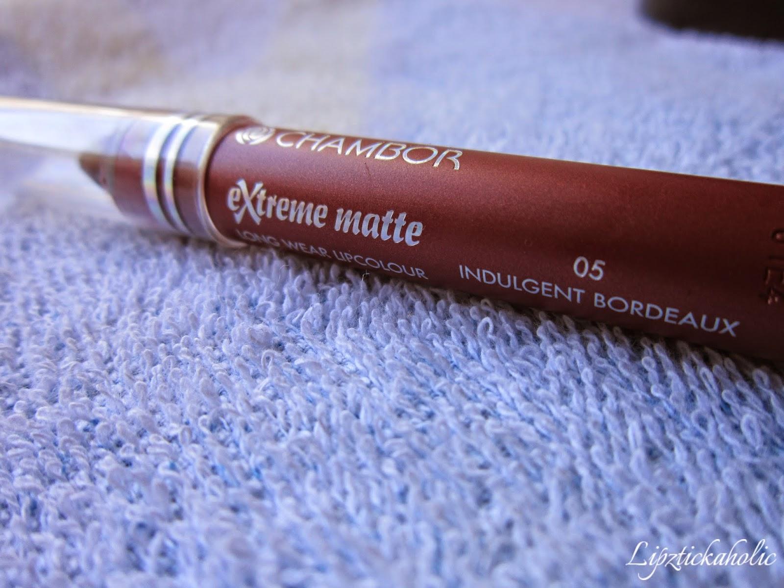 Chambor Extreme Matte Lip Colour - Indulgent Bordeaux image