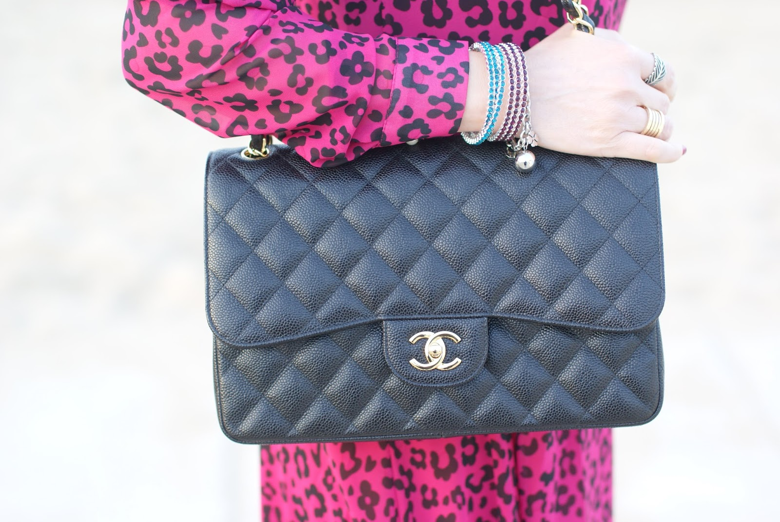 Chanel 2.55 caviar bag, Fashion and Cookies fashion blog, fashion blogger style