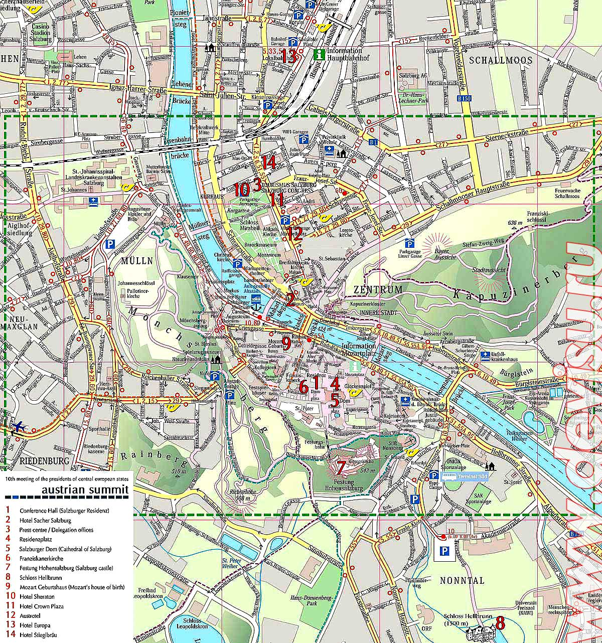 Salzburg Travel Guide Best Tourist Destination – Salzburg Tourist Map