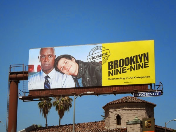 Brooklyn Nine-Nine Awesome Emmy Consideration 2014 billboard