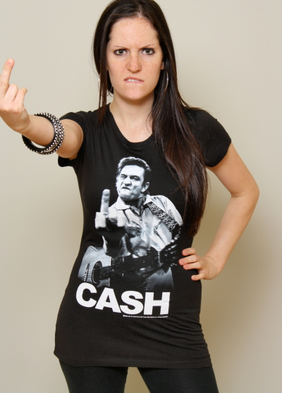 Johnny Cash tee