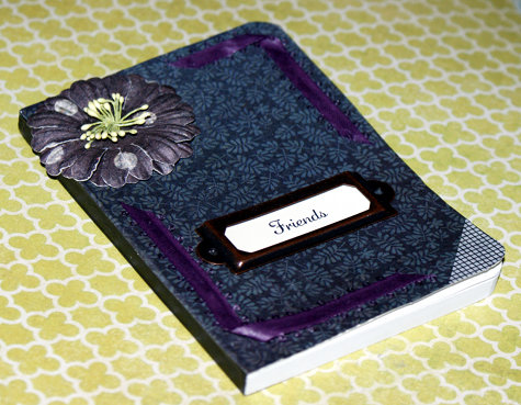 DIY Address Book - DIY Decoupage Craft Project