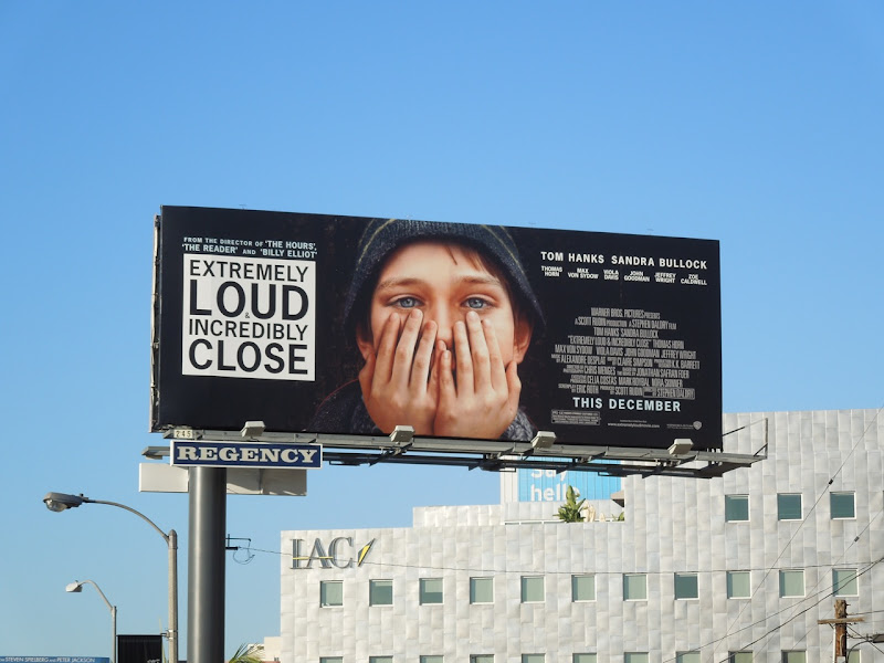 Extremely Loud and Incredibly Close billboard