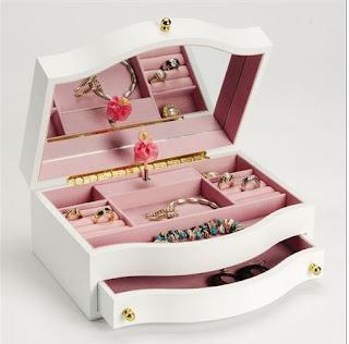 girls ballerina jewelry box