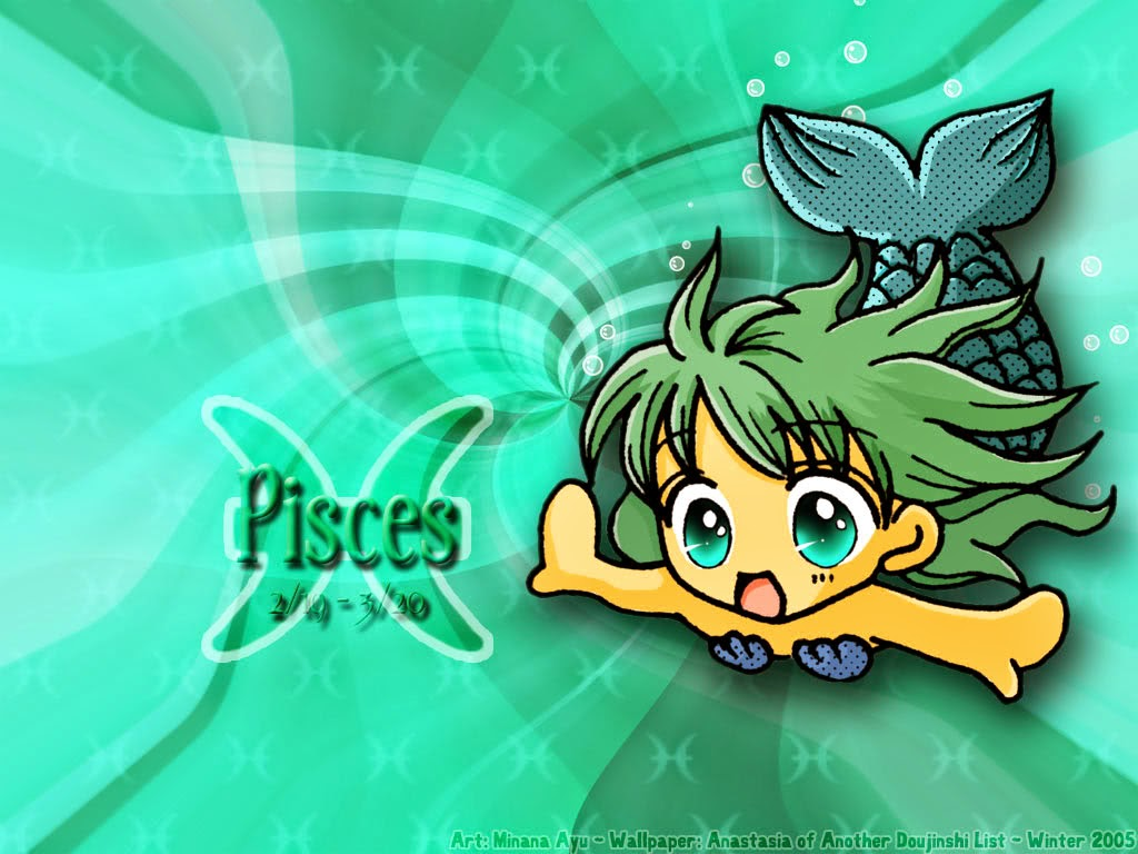 Cute Pisces Wallpaper