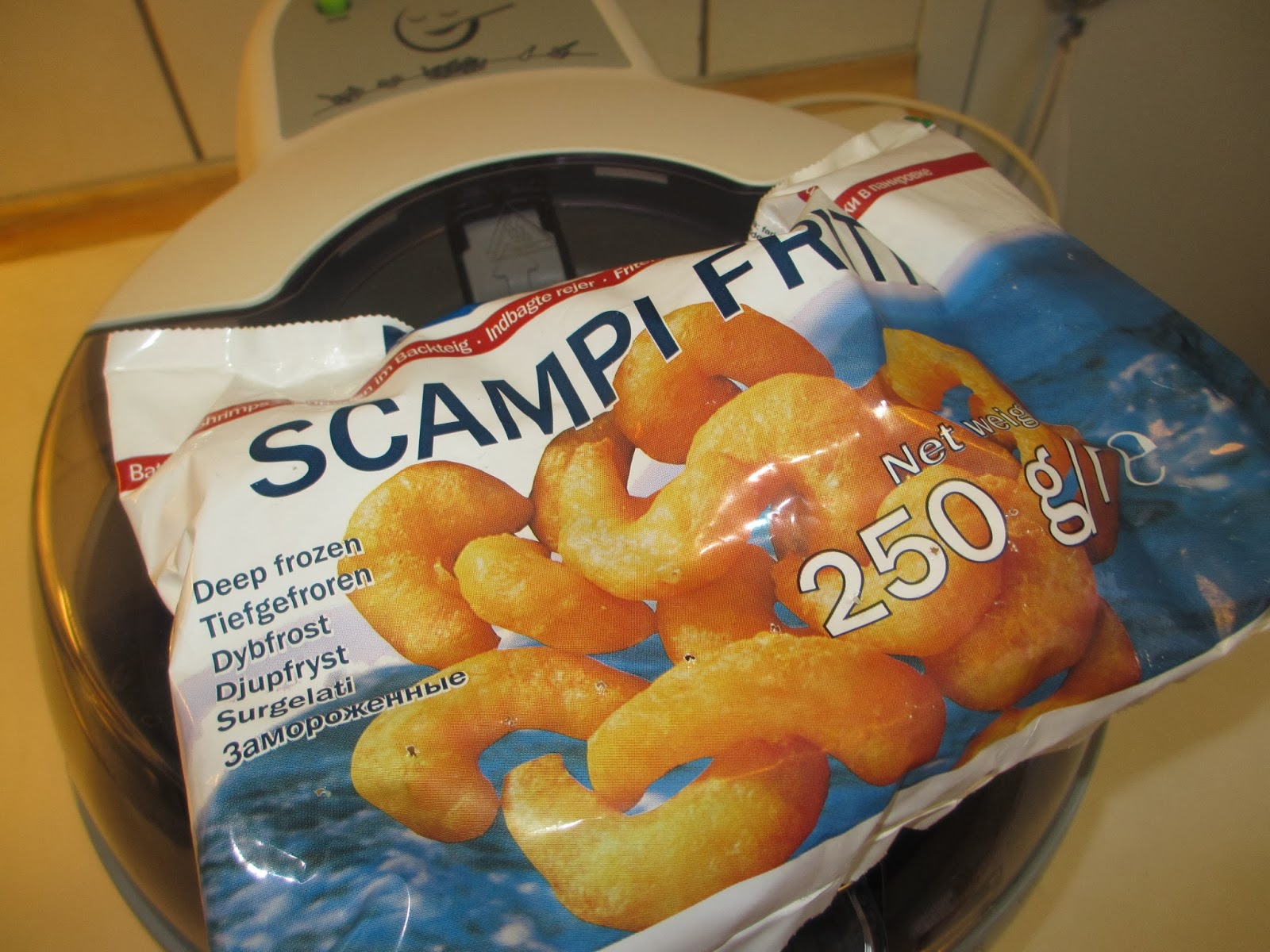 how to cook scampi in actifry