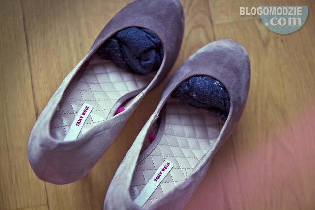 Rozciąganie za małych butów