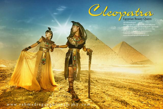 foto prewedding tema cleopatra egyptian beauty queen