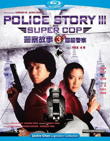 Police Story 3 Supercop 1992 BRRip 300MB Hindi Dubbed