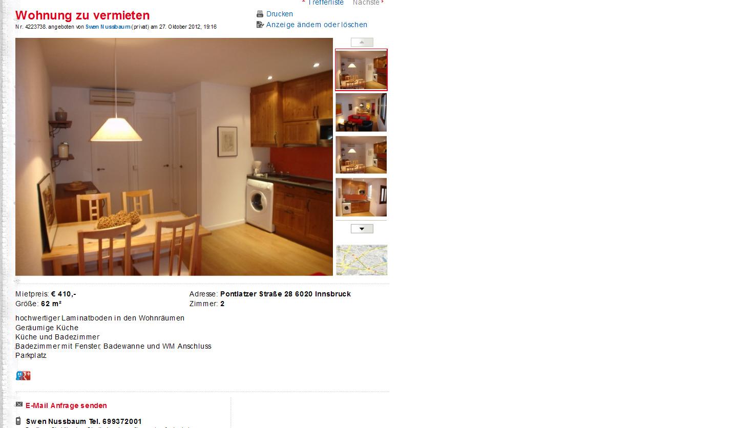 Wohnung mieten von privat frankfurt oder for Wohnung mieten von privat ohne provision