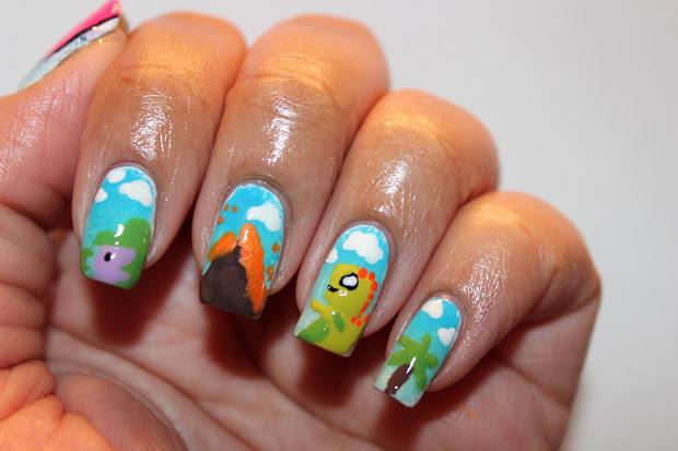 lick lacquer dinosaur nails