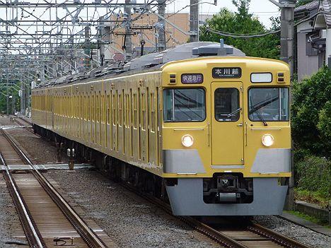 西武新宿線 快速急行 本川越行き2 新2000系(廃止)