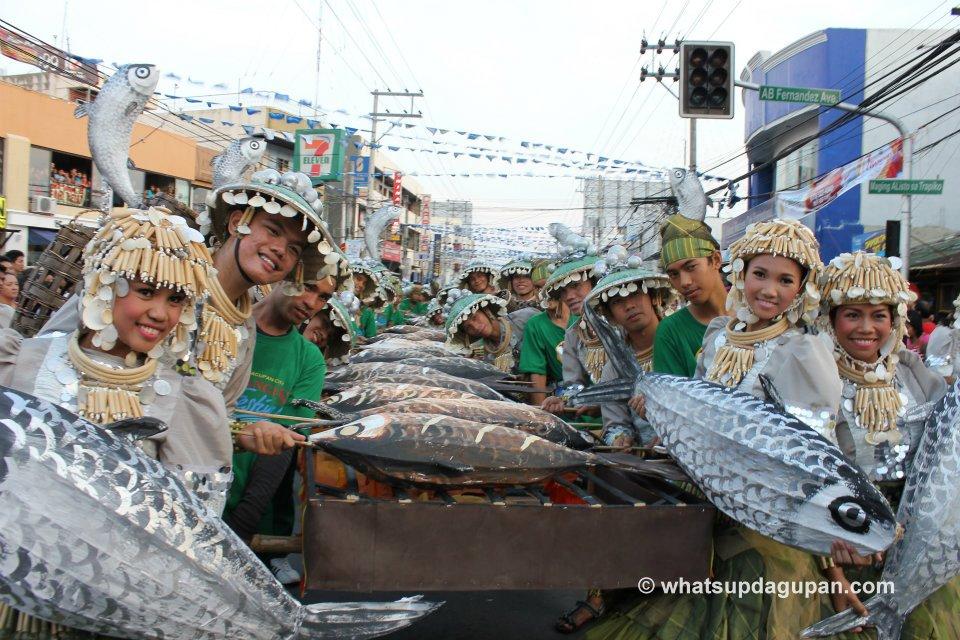 Dagupan City Bangus Festival 2012 Gilon Gilon ed Dalan Street Dancing Champion - Brgy Lucao