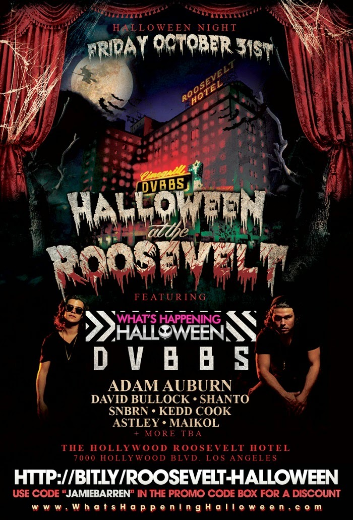 """Roosevelt Hollywood Halloween 2014 Event"""