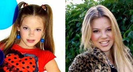 Antes y después de la niña repelente cantante María Isabel, Eurojunior