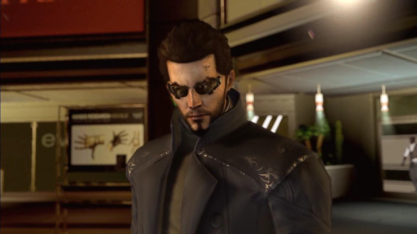 Adam Jensen, laureát nepochybně nejhezčího kabátu v dějinách herního průmyslu. Ale i k zamyšlení to bylo!