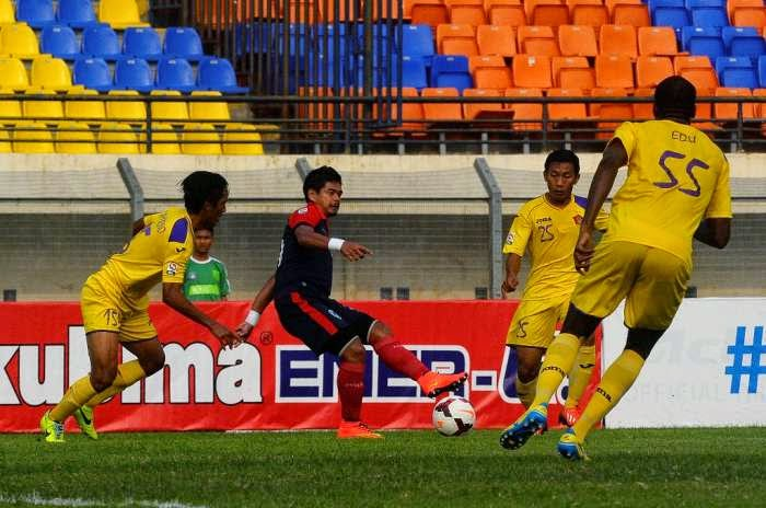 Pelita Bandung Raya (PBR) vs Sriwijaya FC 2-1